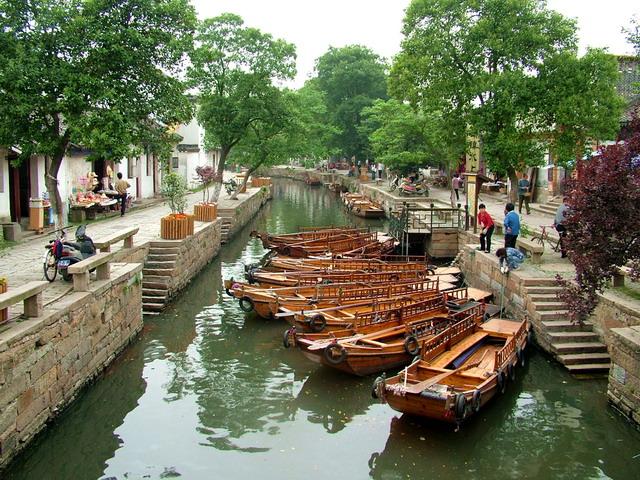 苏州、同里、上海三日游